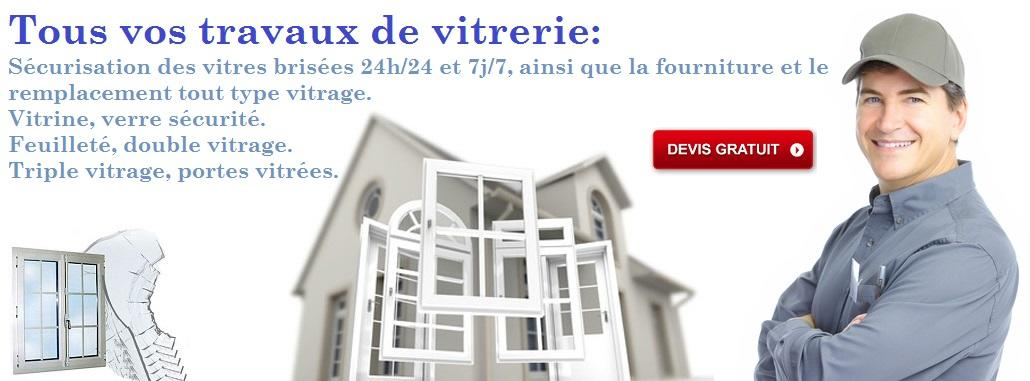 Vitrier Saint-ouen 01 40 22 19 93